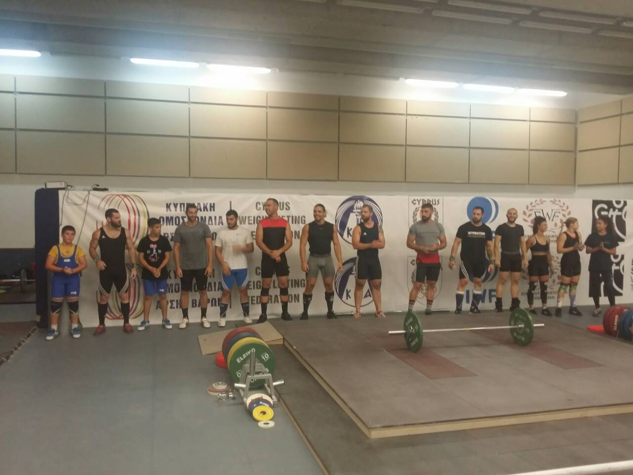 Weightlifting Workshop 07 July 2018 – Results