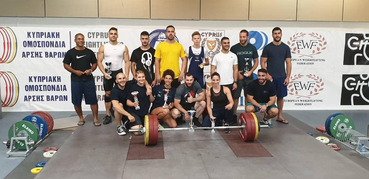 Weightlifting Midterm Competition 29 June 2019 – Results