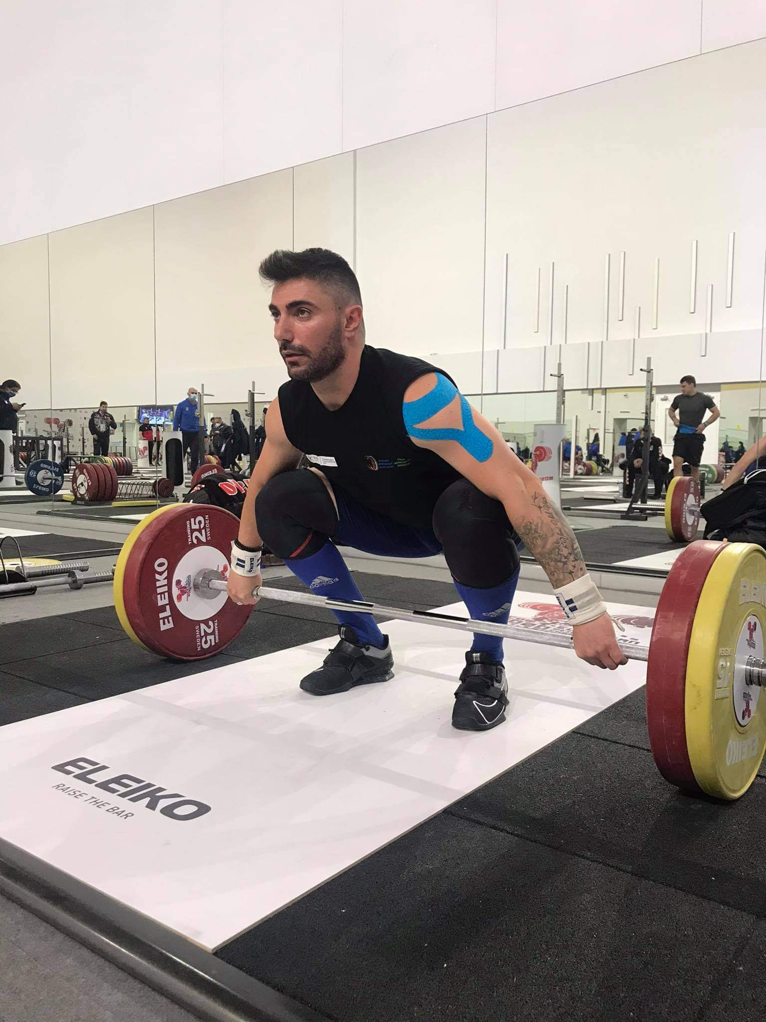 European Weightlifting Championships in Moscow – 2021