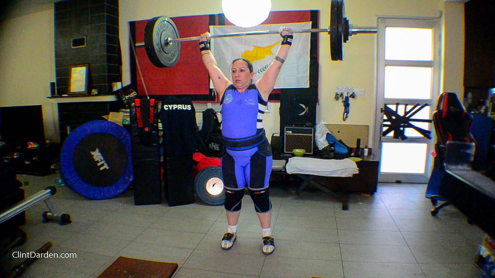 1st International Virtual Women Weightlifting Grand Prix