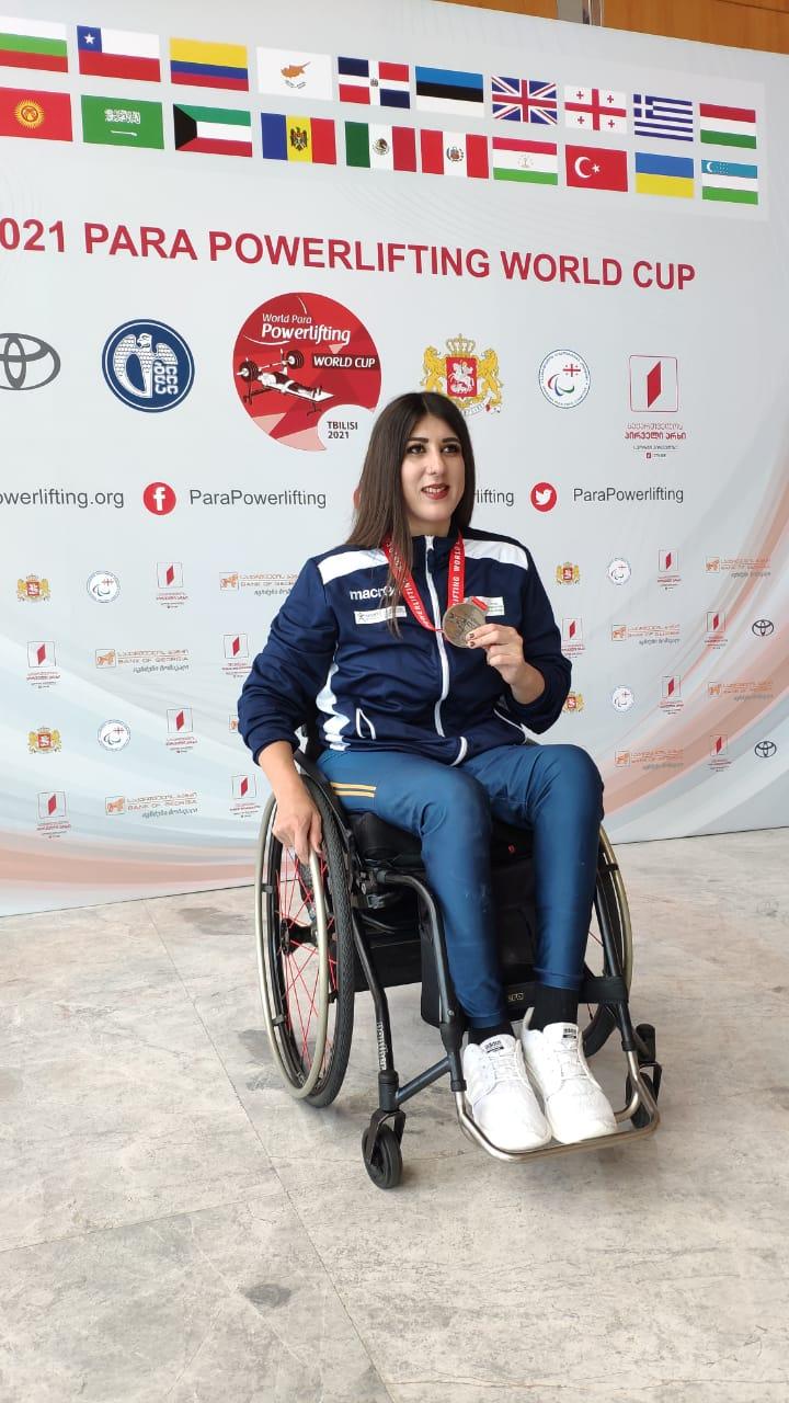 Μαρία Μάρκου: Αργυρό Μετάλλιο στους Παγκόσμιους Αγώνες 2021, στην Γεωργία